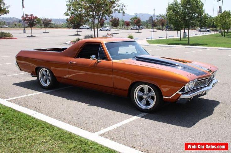 1968 Chevrolet El Camino #chevrolet #elcamino #forsale #canada