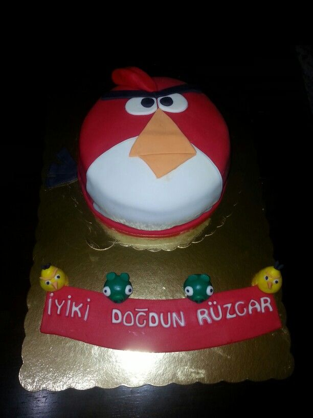 #angrybirds cake