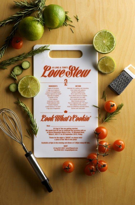 On the Creative Market Blog - 23 Creative and Unique Wedding Invitations