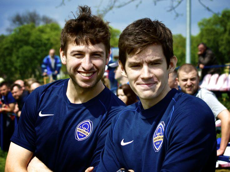 Marcin Wilczek i Adrian Szewczyk