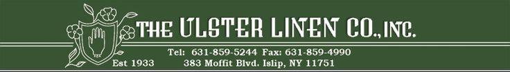 Ulster Linen Company - European linen, kitchen textiles, fine linens, piece goods