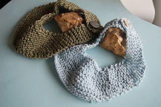 ruta: Oppskrift på strikket babysmekker
