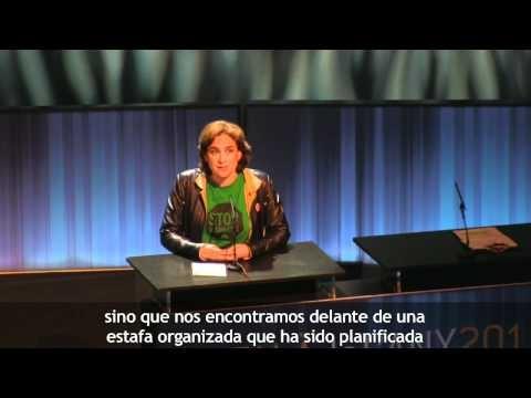 @LA_PAH mejor iniciativa solidaria #cataladelany. El discurso que tv3 no emitió