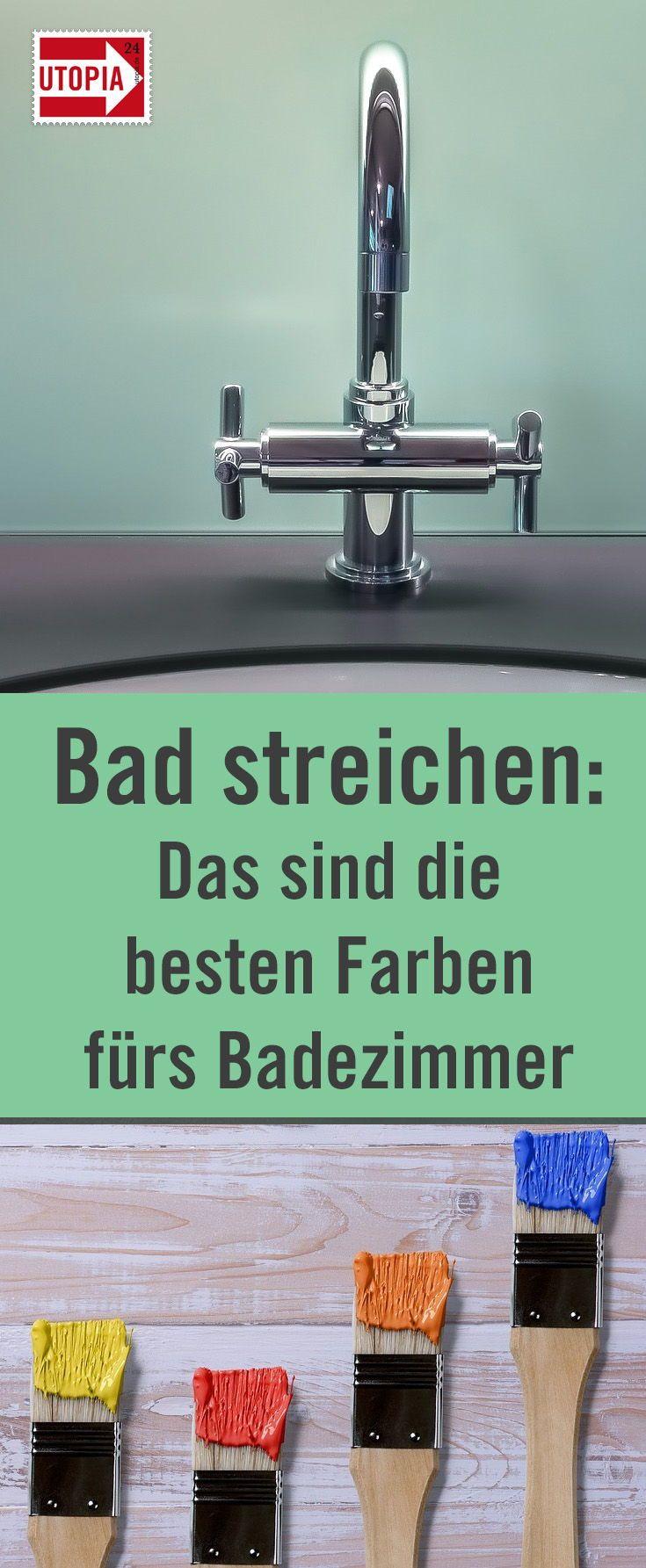 Bad streichen: Die besten Badezimmer-Farben