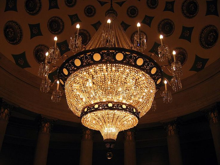File Chandelier In Us Capitol Building Jpg
