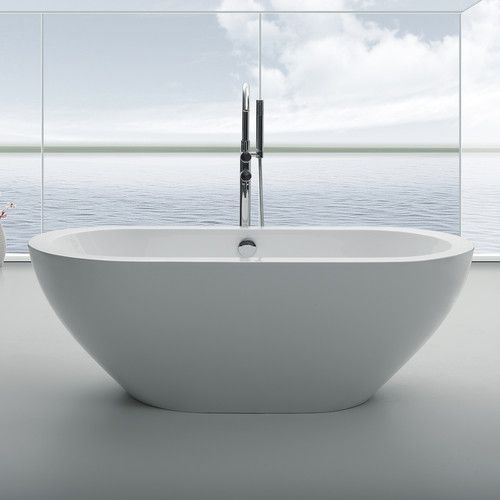 bathtub includes tub drain and all utilities for