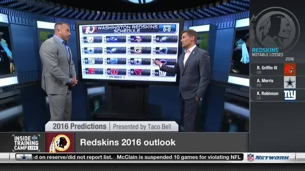Back-to-back NFC East titles?  Elliot Harrison & Heath Evans break down the Washington Redskins 2016 schedule.