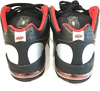 ac472af9e93b8 Nike Air Max 2003 (PS) Trainers Shoes 306649 Black Silver Red Boy's ...
