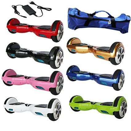 iStyle® Two Wheel Self Balancing Scooter Electric Unicycle UK Warranty Various Colours - Red