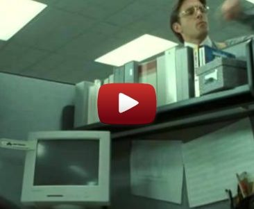 "Neo escapes Lumbergh — ""The Matrix"" mashed up with ""Office Space"""
