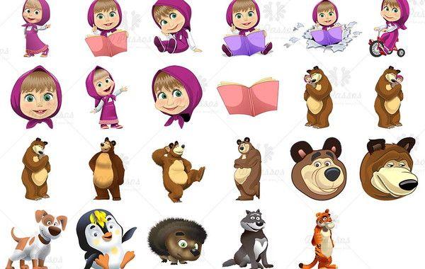 Kit Digital Vetor Corel Draw Masha E O Urso No Elo7 Paula Rosa Design Grafico Df8be0 Masha E O Urso Urso Artesanato Facil Para Criancas