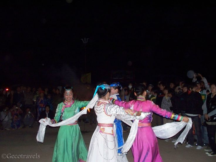 Traditional Mongolian dance