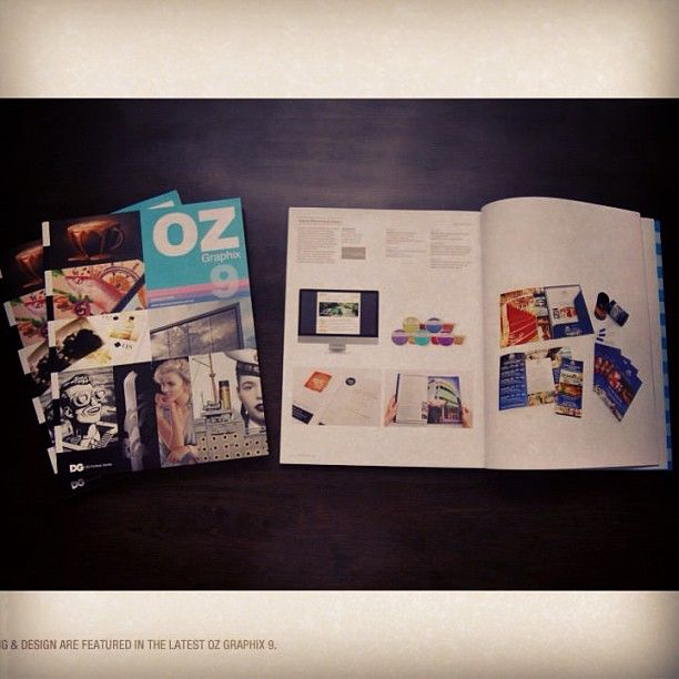 Taybian design was selected by DG Design Network to feature in OZ Graphix9 magazine. #graphicdesign #branding #taybiandesign