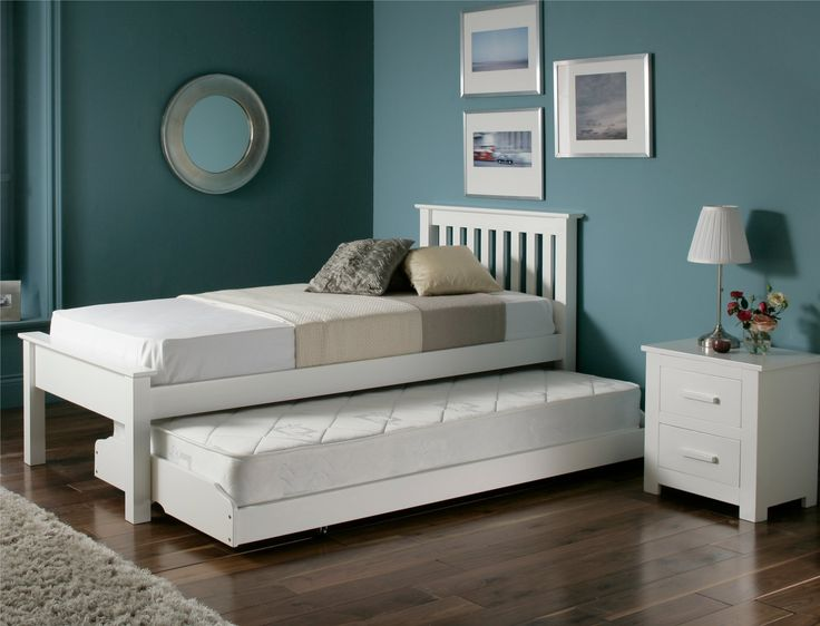 Denver Guest Bed   White   Painted Wood   Wooden Beds   Beds. 17 Best images about Guest beds on Pinterest   King  White single