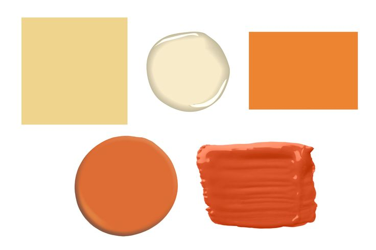 17 Best Images About Orange Gt Pumpkin Gt Peach Wall Color On