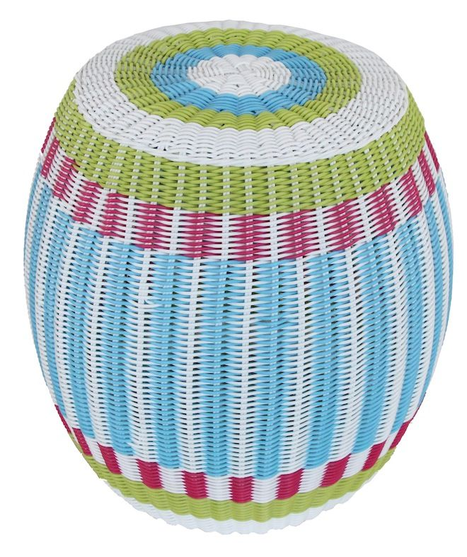 NEW IN: Handwoven drum rattan stools - waterproof! From $140 RRP AUD.  http://www.philbee.com.au/decor/outdoor-indoor-waterproof-hand-woven-rattan-ottoman-1020.html