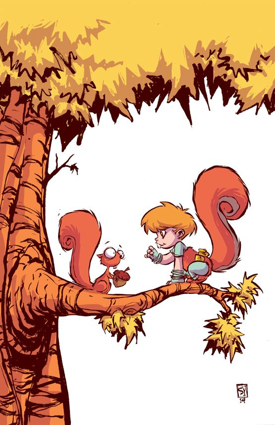 The Unbeatable Squirrel Girl #1 Baby Variant - Skottie Young