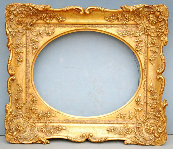 27 best Antique French Frames images on Pinterest | Frames, Antique ...