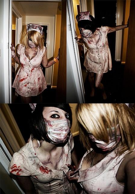 Silent Hill Nurses by vicki roach, via Flickr