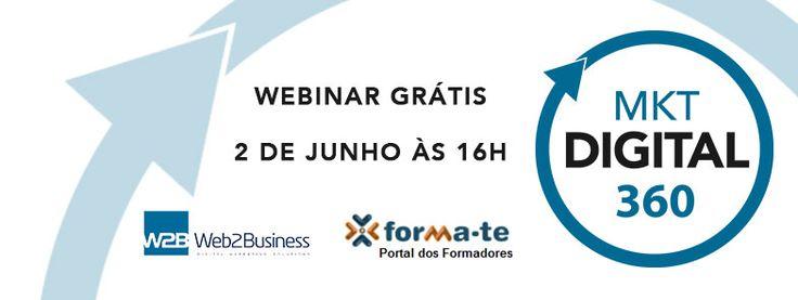 Webinar Gratuito Marketing Digital 360