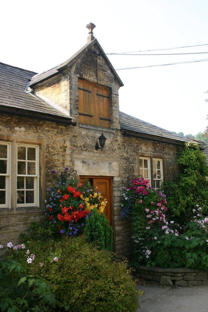 Cotswold Cottage http://foxstox.deviantart.com/art/Cotswold-Cottages-2-54919128