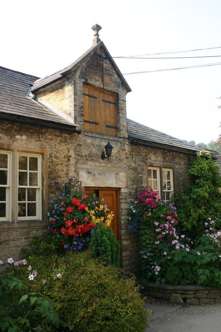 Cotswold Cottage http://foxstox.deviantart.com/art/Cotswold-Cottages-2-54919128