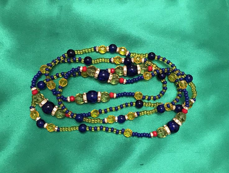 Excited to share the latest addition to my #etsy shop: Orisha Ochosi Eleke Oshosi Santeria Ileke Lukumi Collares Ifa Yoruba Religion