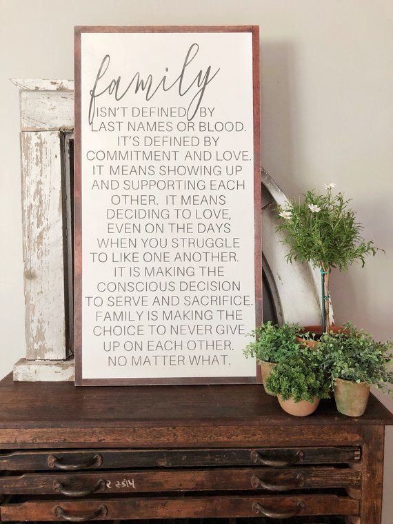 Family Sign Family Isn T Always Blood Family Quotes Large Wall