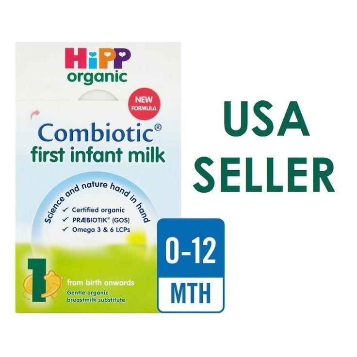 HiPP Formula Organic Combiotic First Infant Baby Milk Stage 1 USA Seller 800g UK version.
