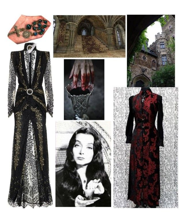 """""""Vampire Countess"""" by hellenrose7292 on Polyvore featuring Alessandra Rich"""