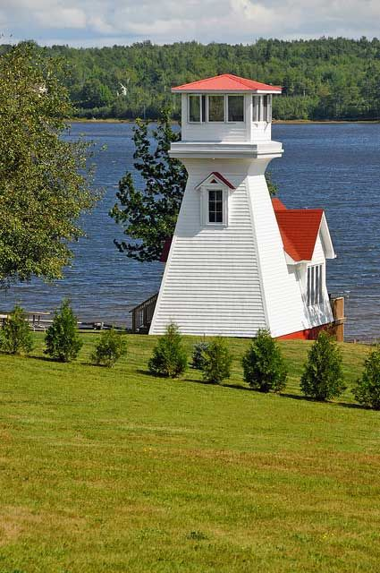 Oak Point Range Front lighthouse [1904 - Miramichi, New Brunswick, Canada]