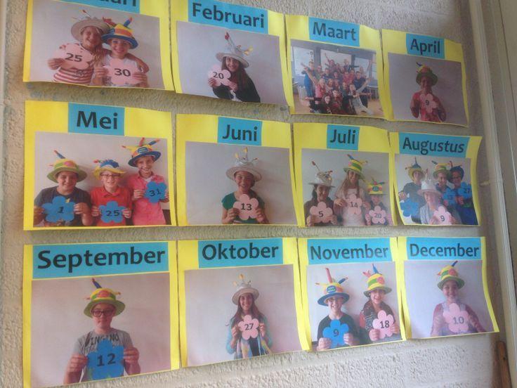 Het is belangrijk voor de ontwikkeling van tijdsinzicht en –besef dat leerlingen leren gebruik te maken van een kalender. Zorg er dus zeker…