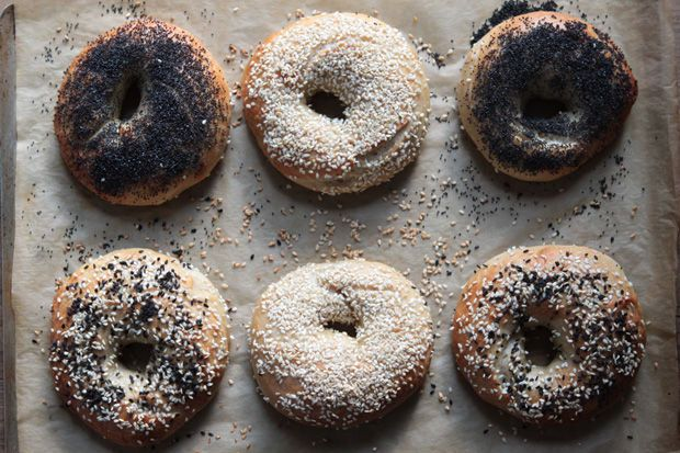 Bagels, Throw a bagel party at work!  What can I say, I will find any excuse to eat a bagel... or four.  I also love Food52 and have become obsessed with reading their how-to sections.  Bring in your favorite bagels, blind taste test and take notes see who gets the most correct!