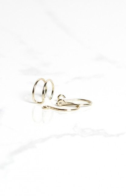 Grace Bijoux Alexis Faux Ring Set Silver https://beginningboutique.com.au/alexis-faux-ring-set-silver