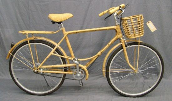 Indonesian Bamboo Bicycle