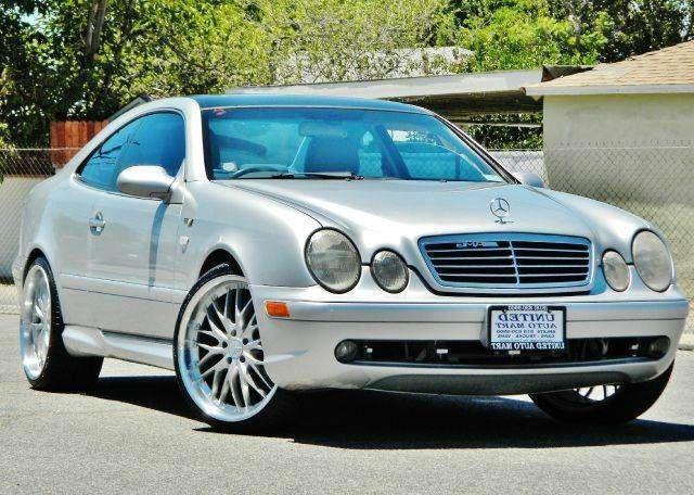 1999 mercedes benz clk 320 coupe 2 dr