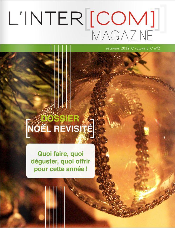 Décembre 2012 #intercom #magazine #étudiant #Noël