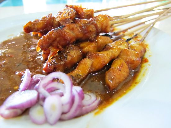 how to make sate ayam