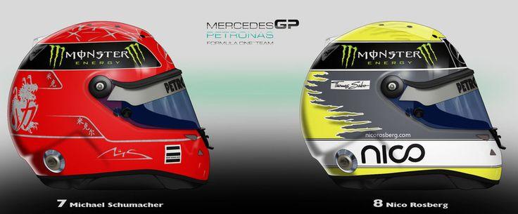 Mercedes GP 2011 by ShinjiRHCP