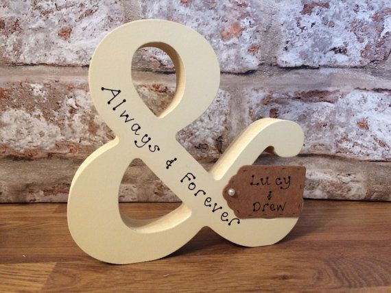 Personalised wedding gift handmade wedding present for married couple for husband and wife