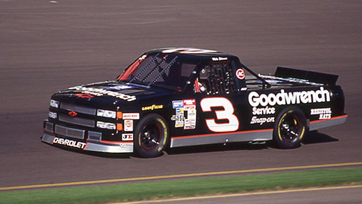 """mike skinner truck 3 goodwrench 
