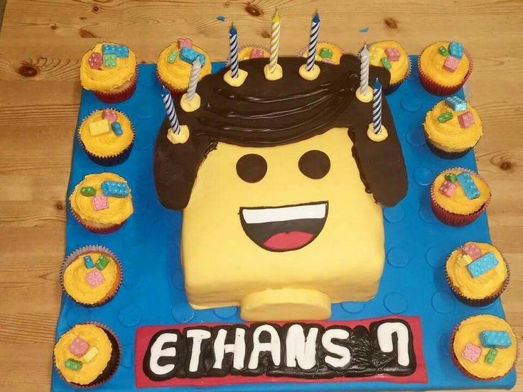 Emmitt lego cake