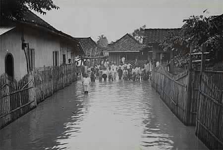 Banjir di Tanah Abang  1920