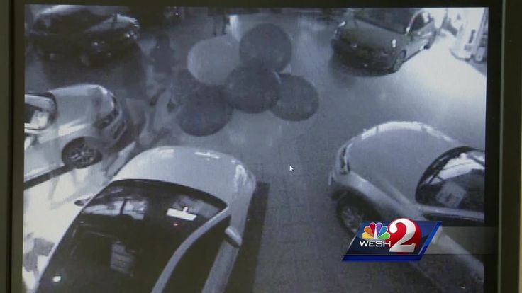 Thieves broke into two different car dealerships in two different cities…