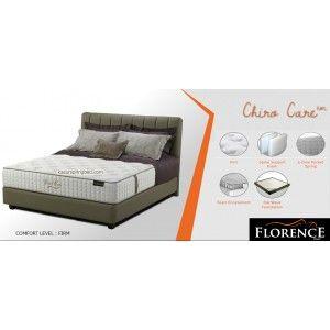 Florence CHIRO CARE Spring Bed      Modern Living Series     tinggi/tebal kasur : 30 cm     Sandaran : CALLISTO tinggi 122 cm     Divan CALLISTO : 24 cm     Comfort Level : FIRM  http://klikfurniture.com/florence-spring-bed/2872-florence-chiro-care-spring-bed.html