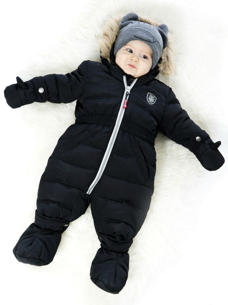 From our Fluffy Puffy collection comes the Baby Bunting Snowsuit in black, a stylish one-piece solution for your baby boy to wear on the coldest winter days. Crafted with a water repellent coating on a polyester outershell, this snowsuit boasts a cozy polar fleece lining, durable YKK zippers, and superior quality insulation to protect baby in temperatures as low as -20°C (-4 °F). Shop now at deuxpardeux.com #kidswear #kidsclothing #babyfashion #littleboystyle #babyclothing