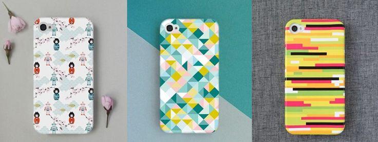 geometric case - want.  iPhone cases from Studio Rita