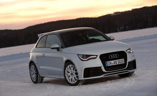 2012 Audi A1 Quattro.  cute.  sort of.