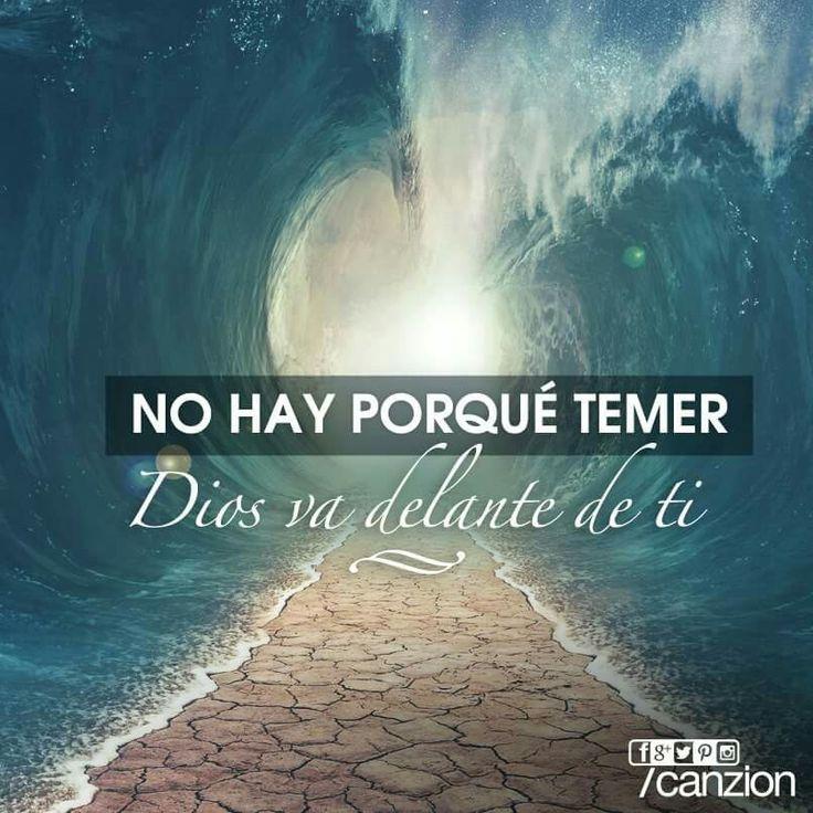 «No temas ni te desalientes, porque el propio Señor irá delante de ti. Él estará contigo; no te fallará ni te abandonará». —Deuteronomio 31:8