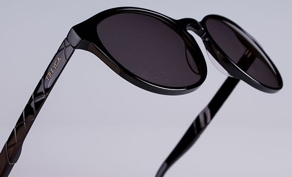 The Treyca Panto Black Sunglasses. #Treyca #Sunglasses
